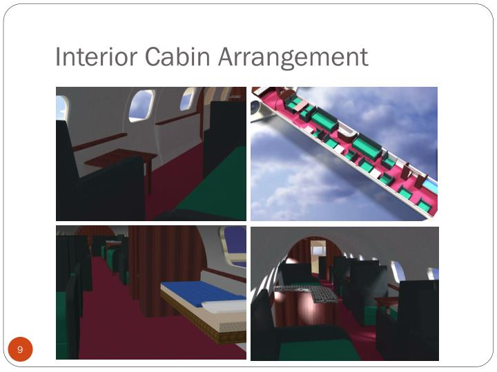 Interior Cabin Arrangement