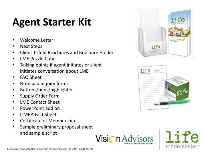 Agent Starter Kit