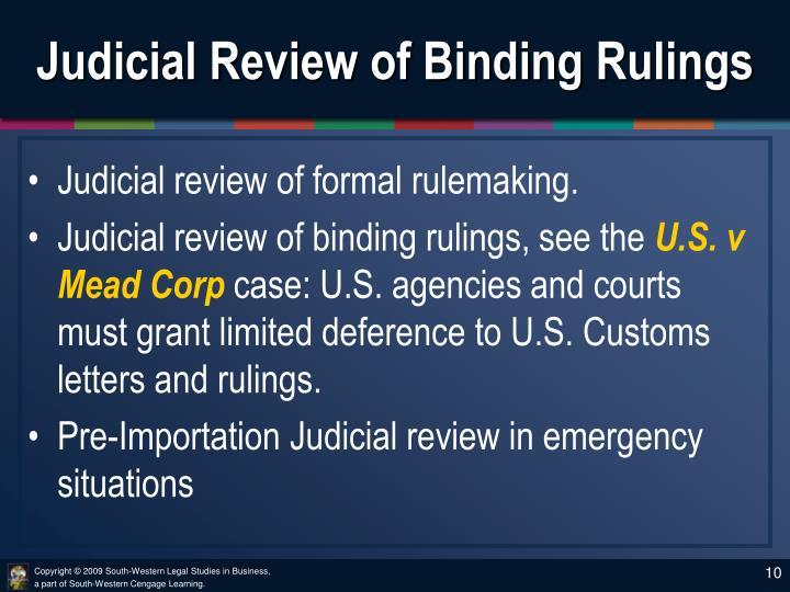 judicial review essays uk