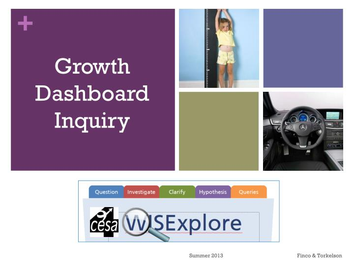 Growth Dashboard Inquiry