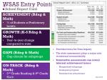 wsas entry points
