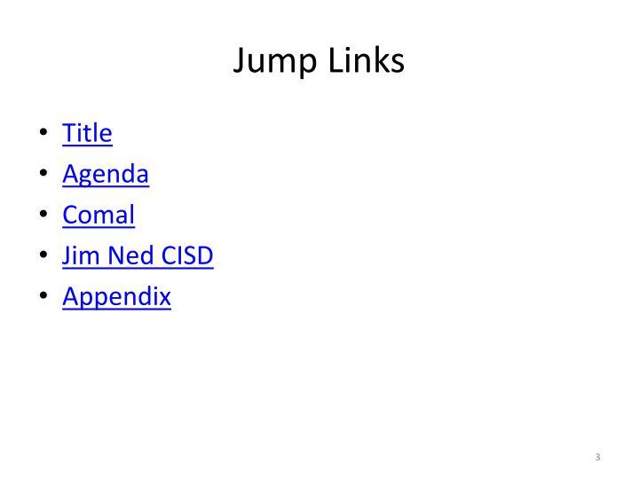 Jump Links