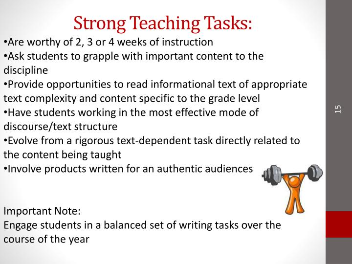 Strong Teaching Tasks: