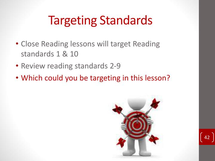 Targeting Standards