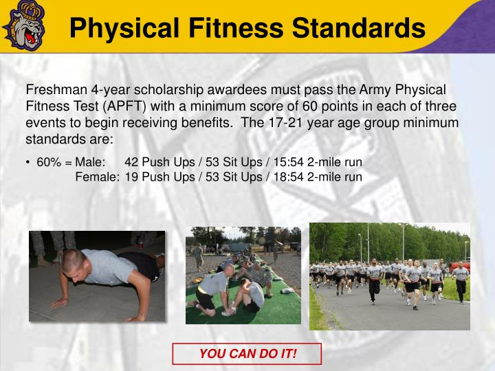 Physical Fitness Standards