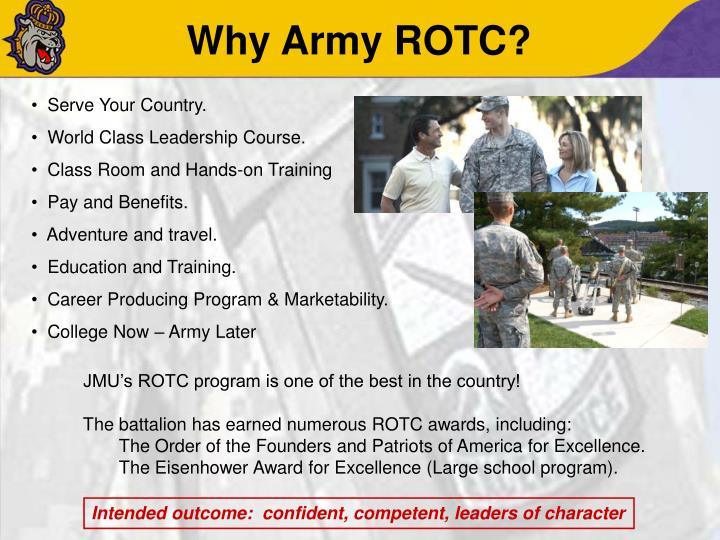 Why Army ROTC?