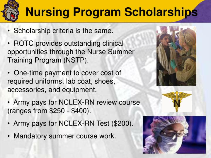 Nursing Program Scholarships