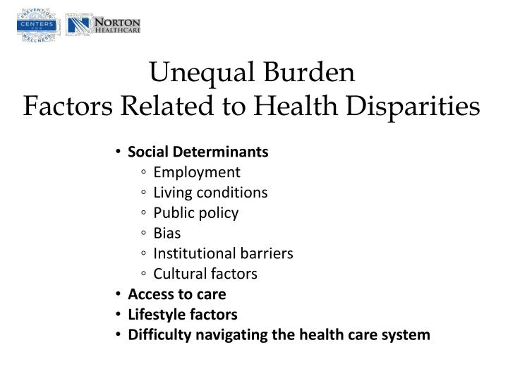 Unequal Burden
