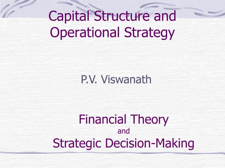 Capital Structure Dissertation