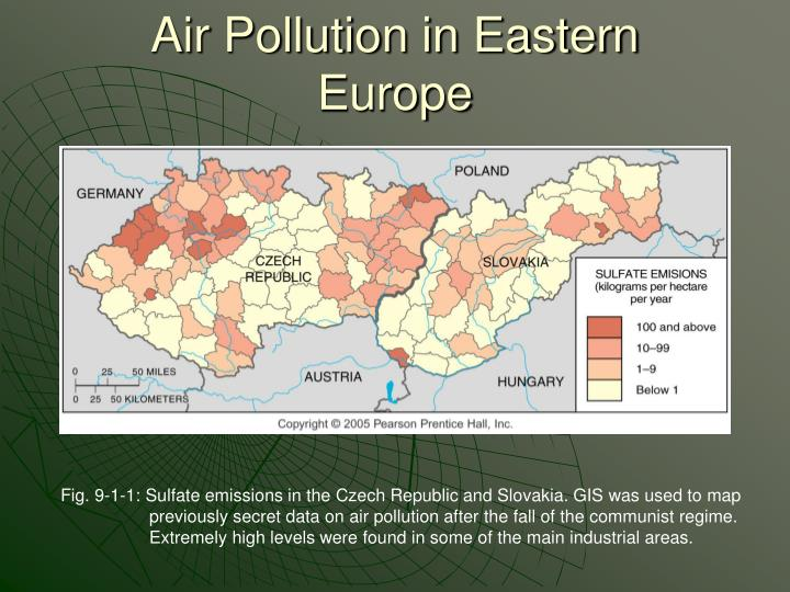 Air Pollution in Eastern Europe