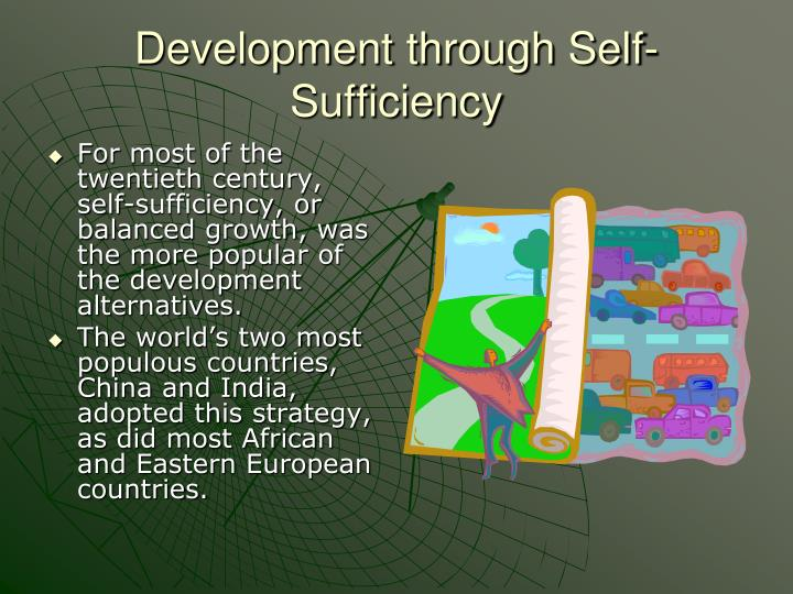 Development through Self-Sufficiency