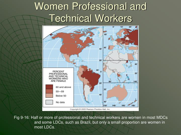 Women Professional and Technical Workers