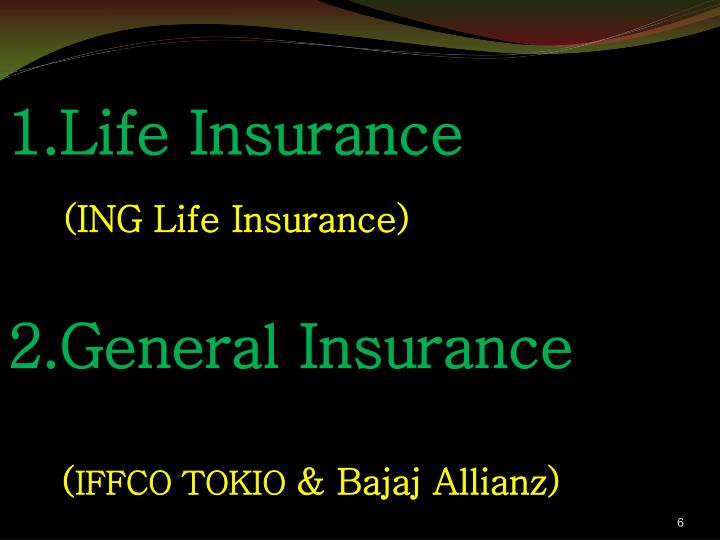 1.Life Insurance