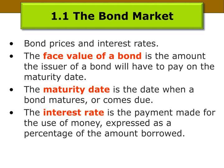 1.1 The Bond Market