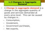 1 2 changes in aggregate demand