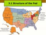 3 1 structure of the fed