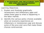 3 recessionary and inflationary gaps and long run macroeconomic equilibrium