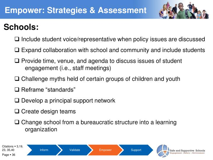 Empower: Strategies & Assessment