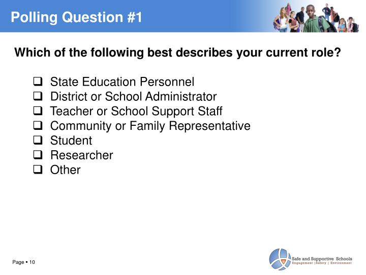 Polling Question #1