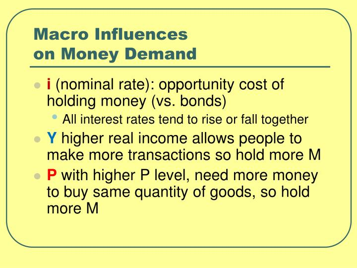 Macro Influences