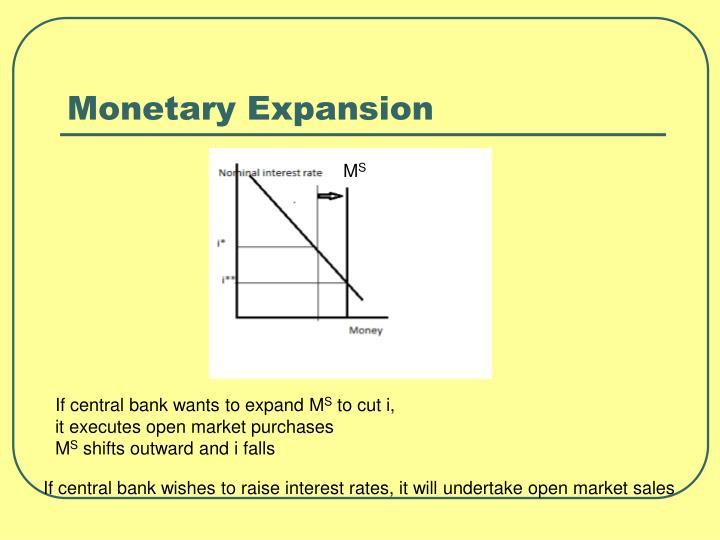 Monetary Expansion
