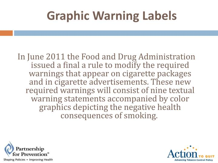 Graphic Warning Labels