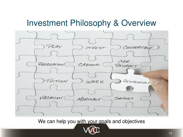 Investment Philosophy & Overview