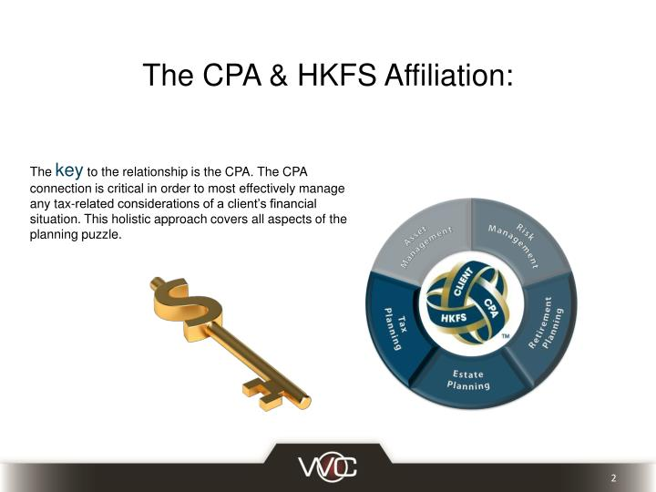 The cpa hkfs affiliation