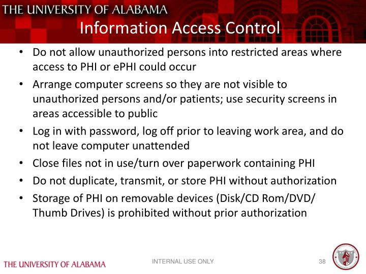 Information Access Control