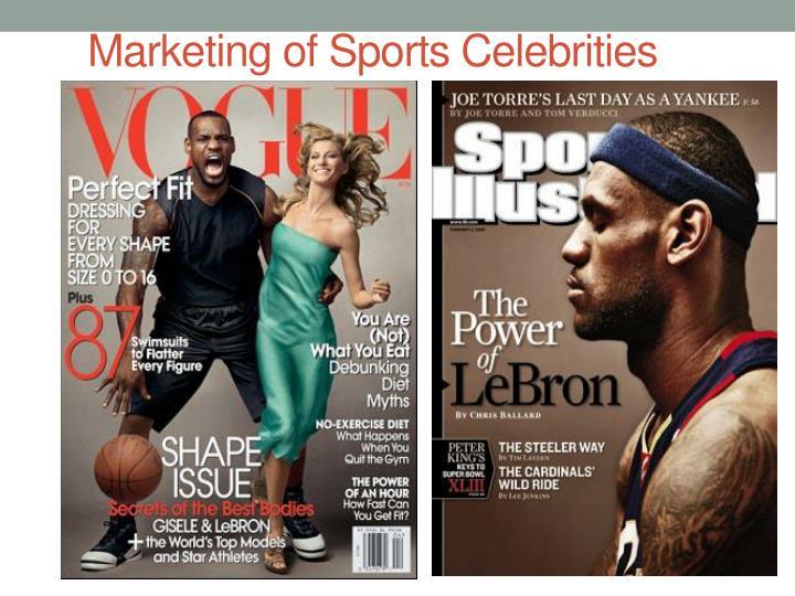 Marketing of Sports Celebrities