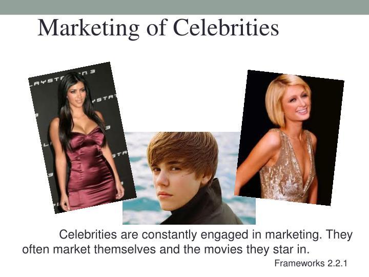 Marketing of Celebrities