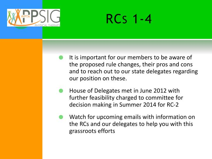 RCs 1-4