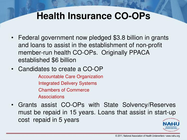 Health Insurance CO-OPs