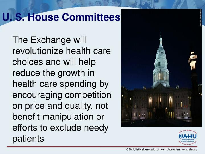 U. S. House Committees