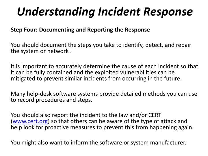 Understanding Incident Response