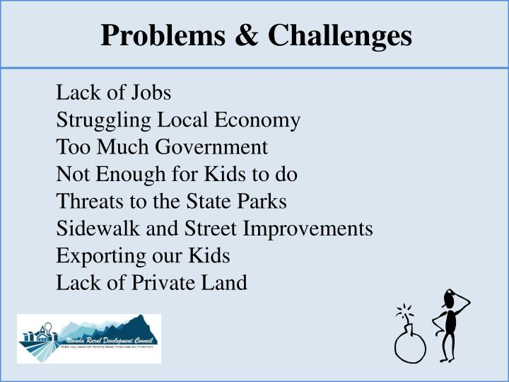 Problems & Challenges