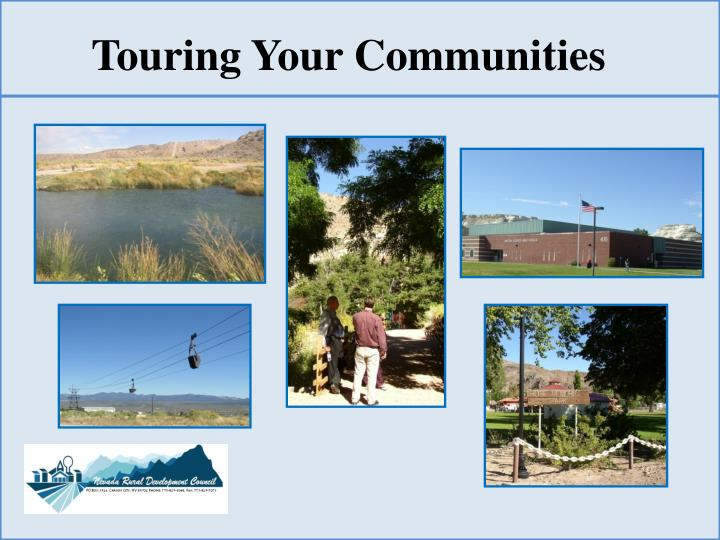 Touring Your Communities
