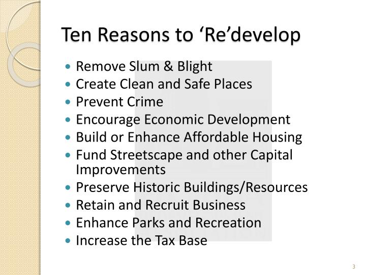 Basic Rules Of Redevelopment : ... Redevelopment Agency (CRA) Board Basics 2013 PowerPoint Presentation