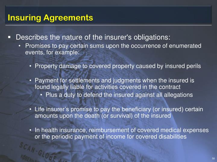 Insuring Agreements