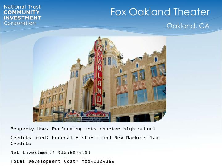 Fox Oakland Theater
