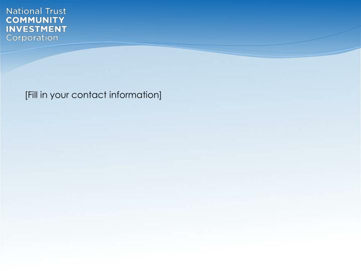 [Fill in your contact information]