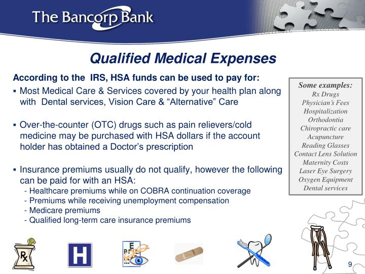 Qualified Medical Expenses