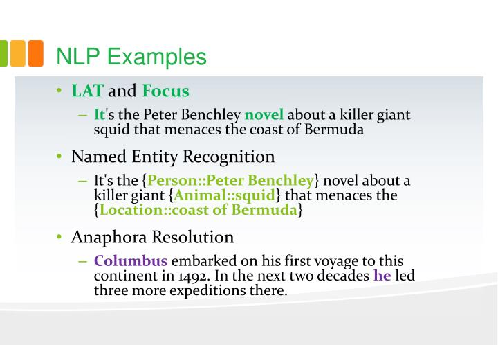 NLP Examples