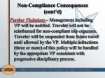 non compliance consequences cont d1