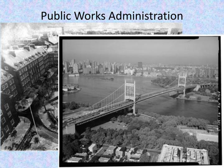 Public Works Administration