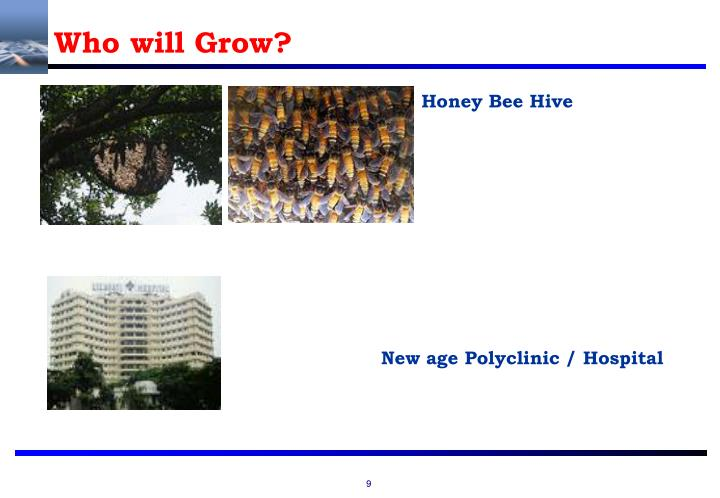 Who will Grow?