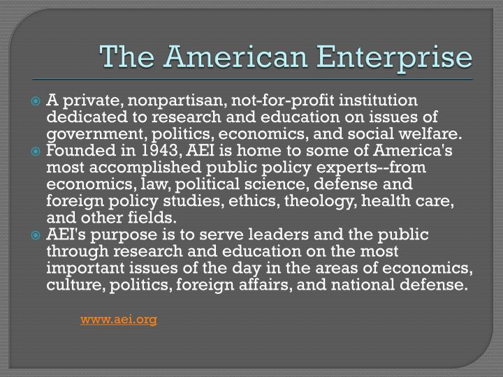 The American Enterprise