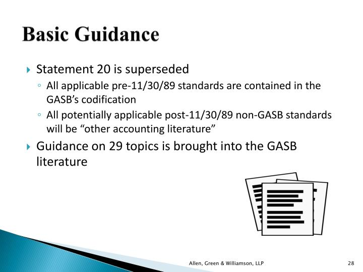 Basic Guidance