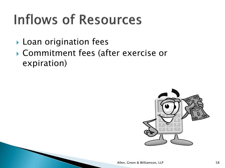 Inflows of Resources