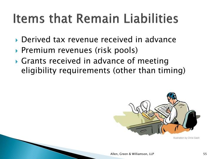 Items that Remain Liabilities